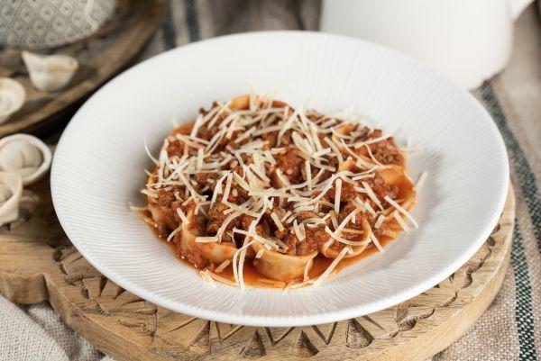 barany tortellini, mozzarella, friss paradicsom